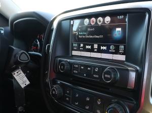 Chevy2015SilveradoRadio